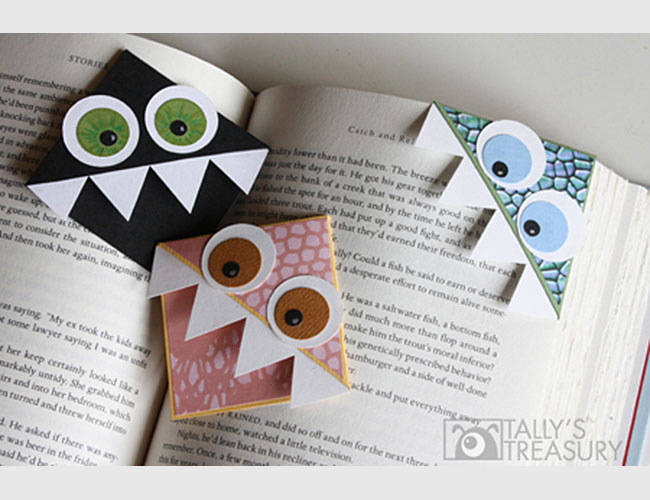 Superb Diy Bookmarks Part - 3: Cute Marks The Spot: U003cbru003e9 DIY Bookmarks