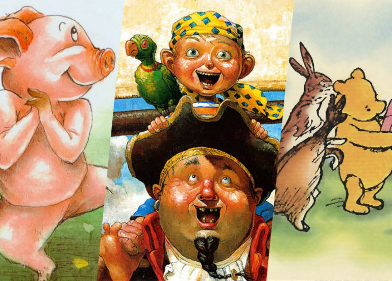 The Luckiest Characters in Children's Literature
