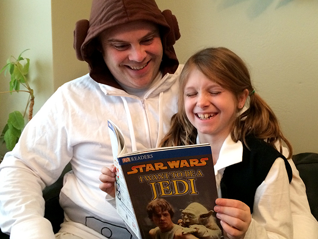 Read On Young Padawan