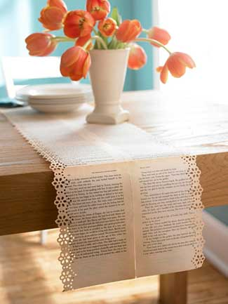 Book Table Runner