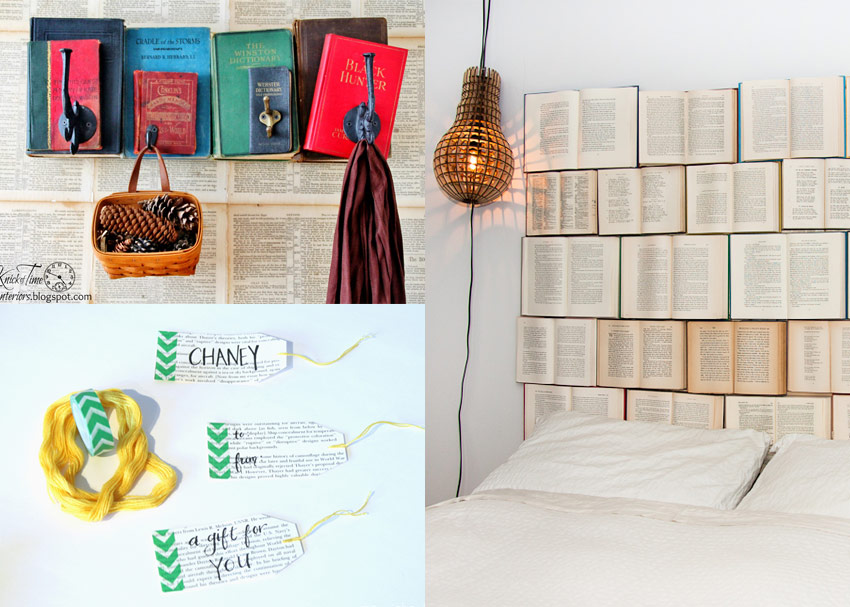 8 Ways To Upcycle Your Old Books Into Cute Crafts And
