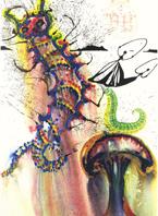 Salvador-Dali-Caterpillar