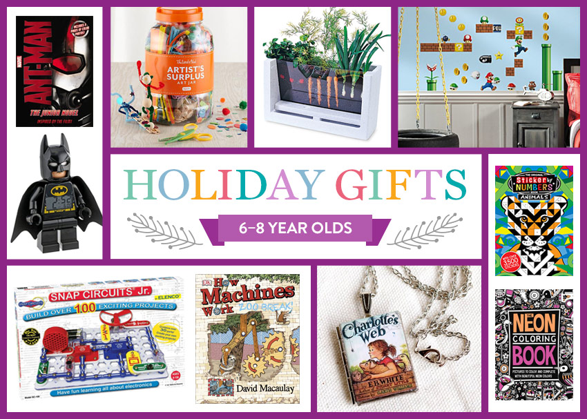 2015 Holiday Gift Guide: 6-8 Year Olds