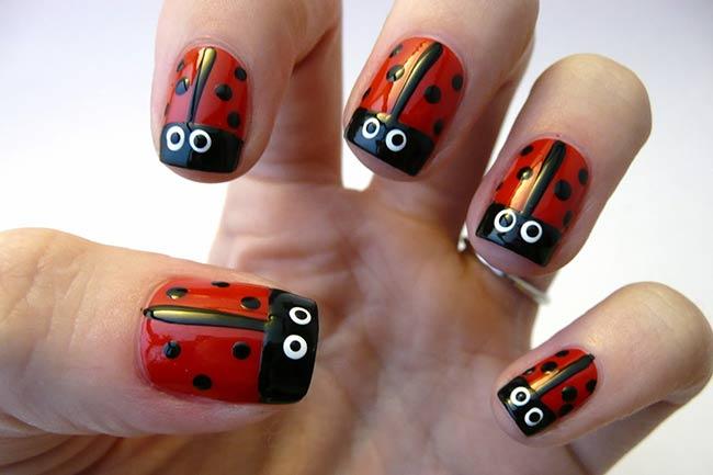 LadybugNails