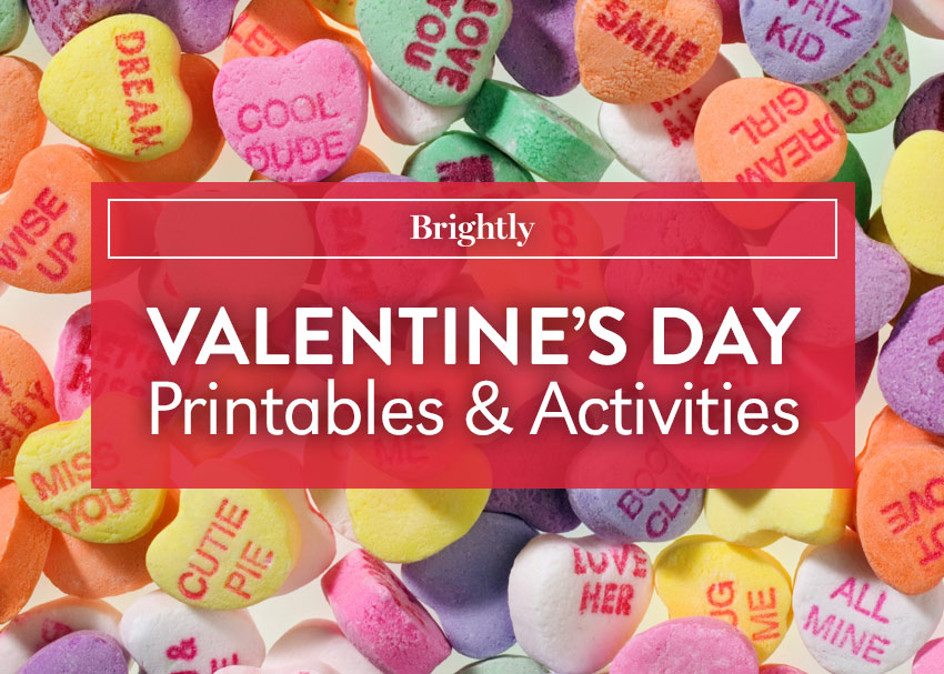 Spread the Love: Valentine\'s Day Printables and Activities | Brightly