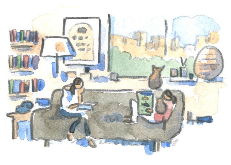 Elisha Cooper watercolor