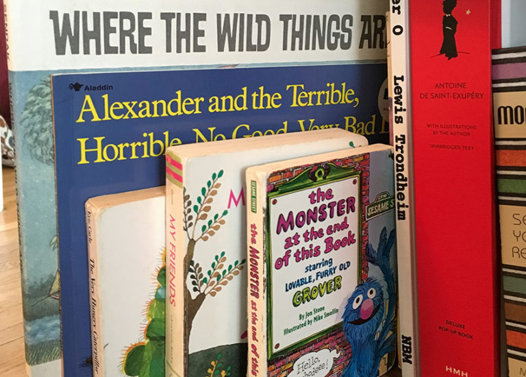 The Books That I Am Never Taking Off My Daughter's Bookshelf Thumbnail