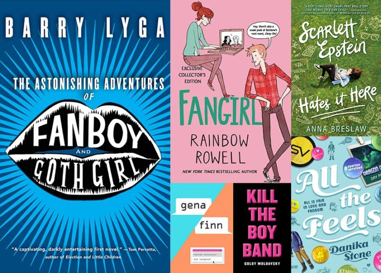 Super Stories for Super Fans: <br>6 YA Novels for Fangirls and Fanboys Thumbnail