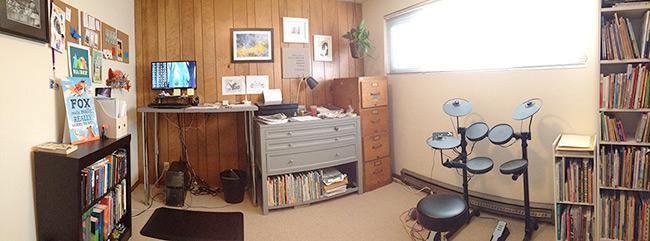 Corey R. Tabor's Art Studio