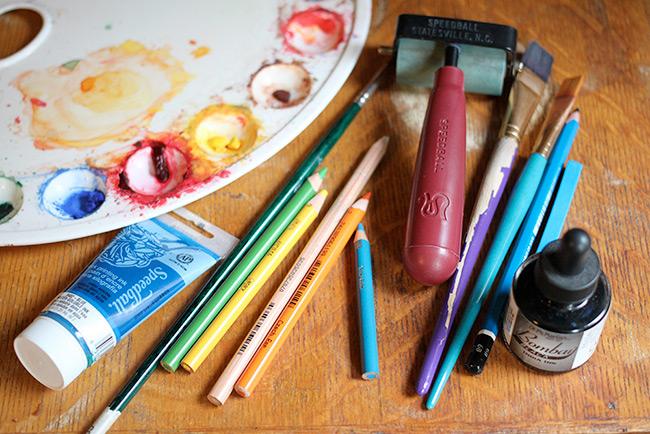 Corey R. Tabor's Art Supplies