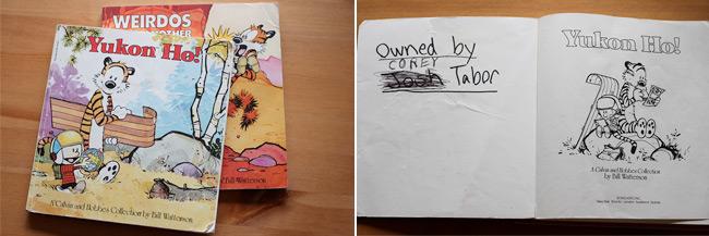 Corey R. Tabor's Calvin & Hobbes Books
