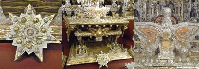 Photos of James Hampton's Throne of the Third Heaven