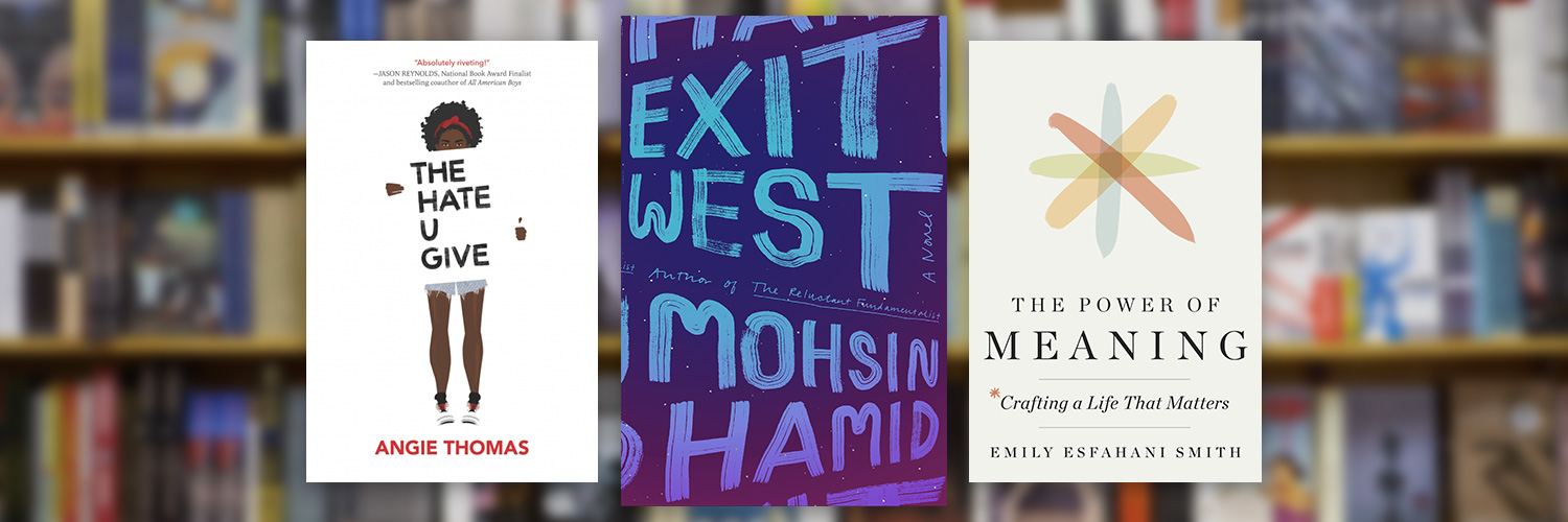 New Reads to Check Out: <br>Two Timely, Moving Novels and a Nonfiction Book About Life's Meaning Thumbnail