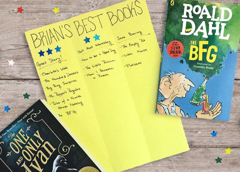 A Summer Reading Star Chart for Beginning Readers Thumbnail