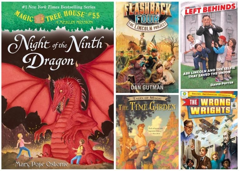 5 Time-Traveling Chapter Books for Kids Who Love Magic Tree House Thumbnail