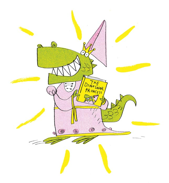 The Dinosaur Princess: A Terrifically Twisted, Two-Minute