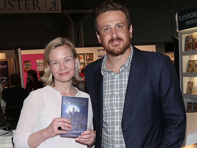 Jason Segel and Kirsten Miller, Authors of Nightmares!