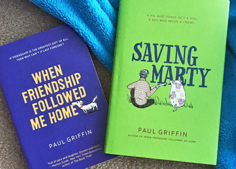 Enter to Win a Set<br> of Books by Paul Griffin Thumbnail