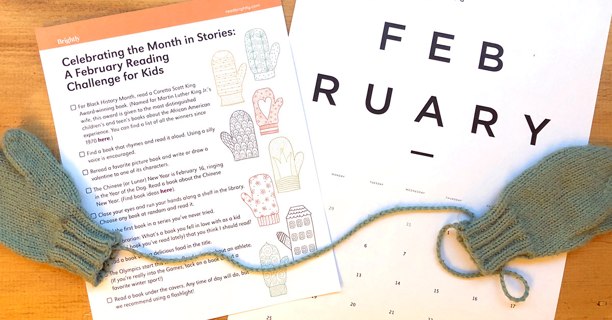Celebrating the Month in Stories: A February Reading Challenge for Kids
