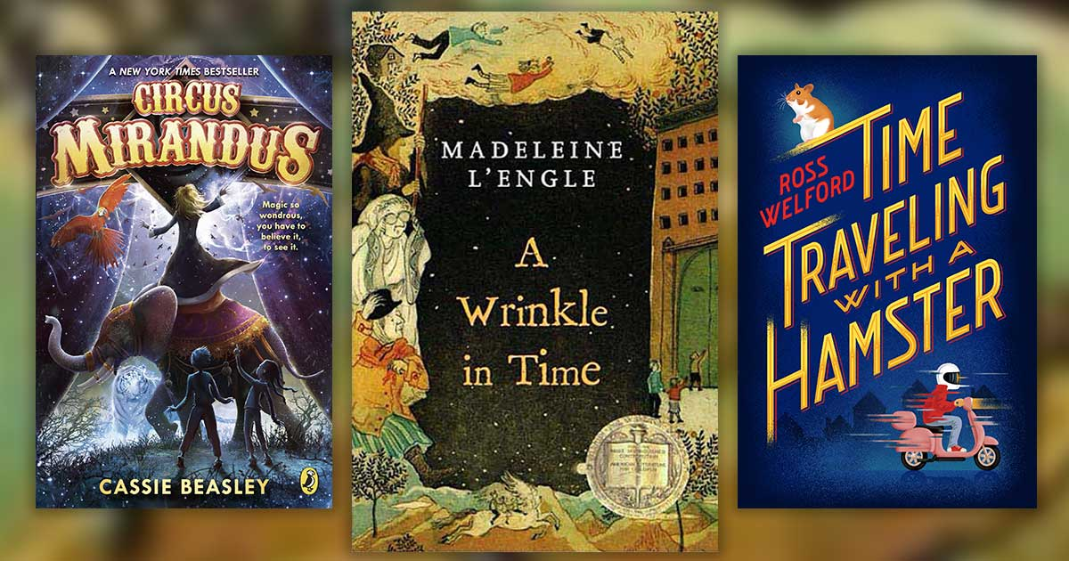12 Book Recommendations For Kids Who Adored A Wrinkle In