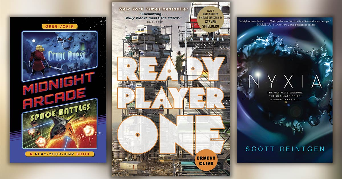 Books Like Ready Player One: 8 Out-of-This-World Next-Reads