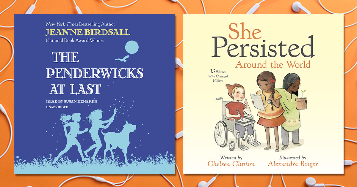 The Best Audiobooks for Kids and Families to Listen to This