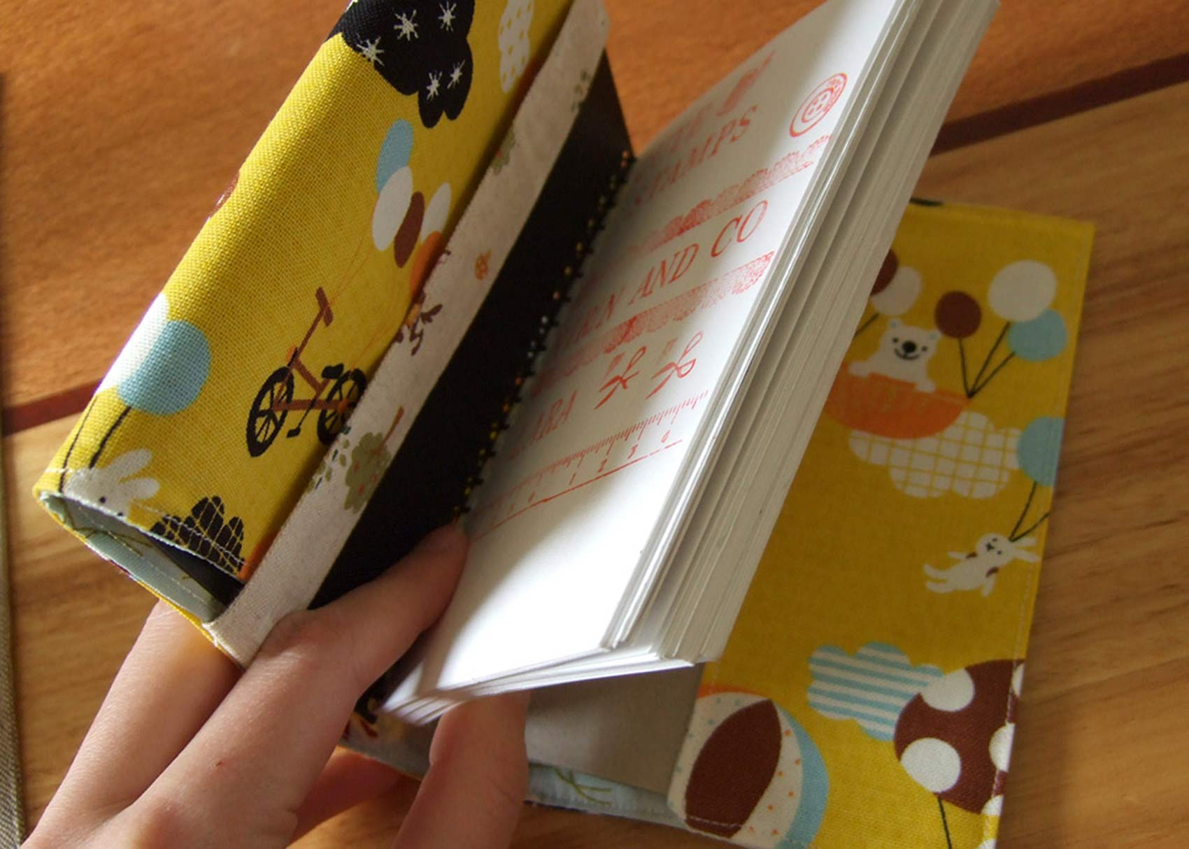 Diy Book Cover Without A Paper ~ Diy book cover with khatam design rizo