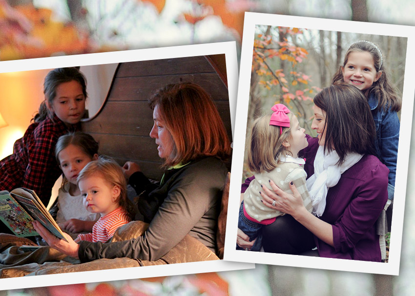 From Mother to Daughter: Passing Reading Memories Forward