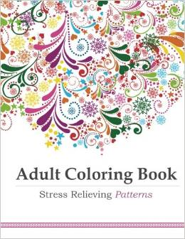 Adult Coloring Book Stress Relieving Patterns