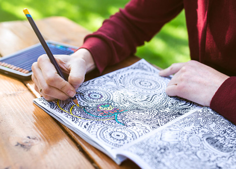 Keep Calm and Color On: <br>Amazing Coloring Books for Adults Thumbnail
