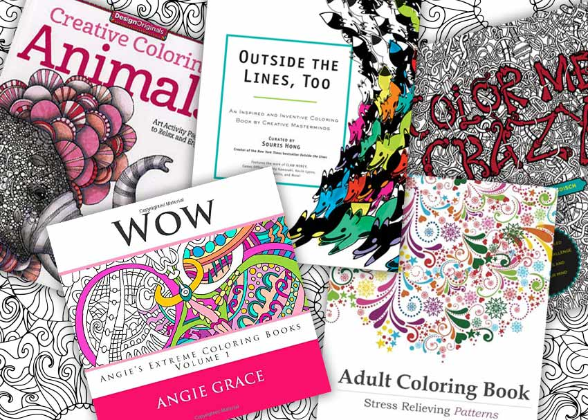 8 Amazing Coloring Books For Adults By Janssen Bradshaw