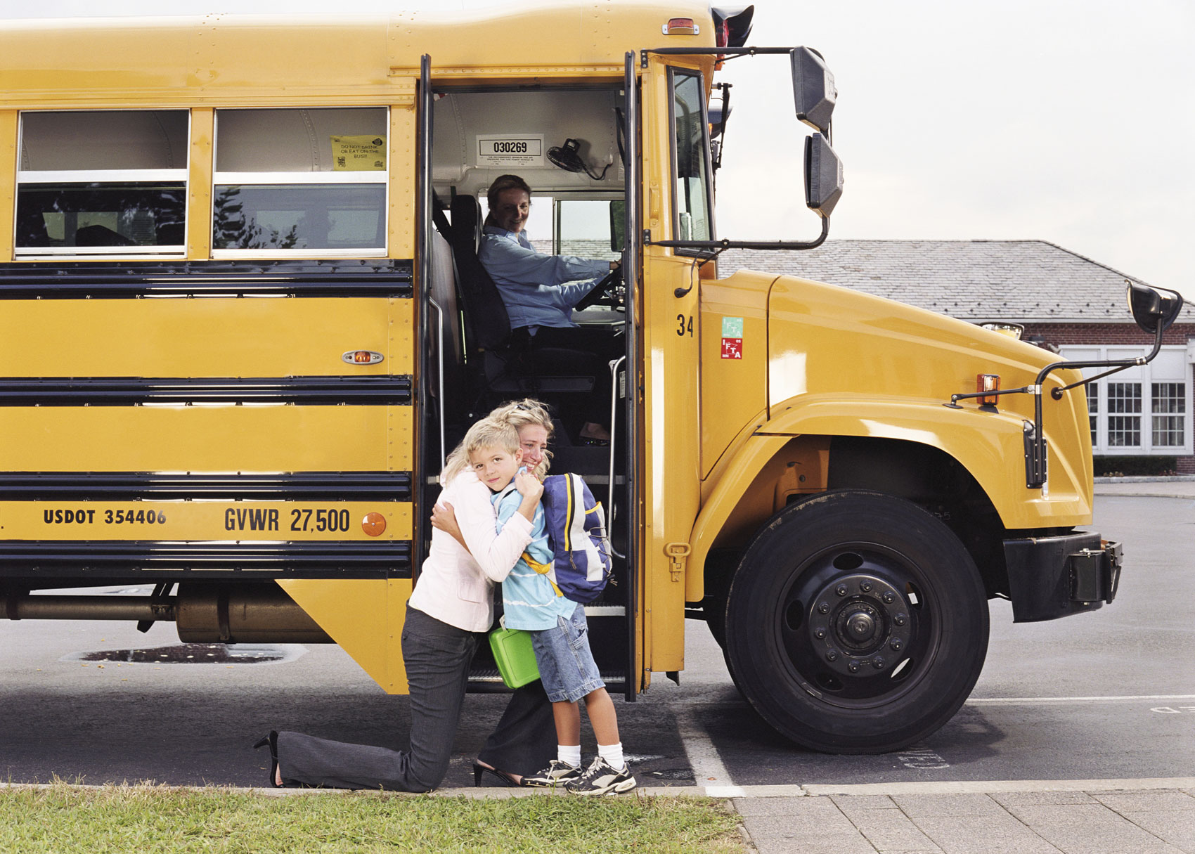 How to Help Ease Your Child's  First Day of School Jitters