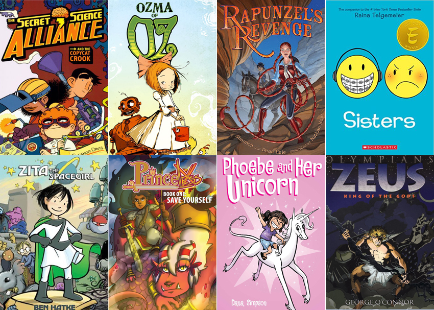 9 Graphic Novels Tween Girls Can T Get Enough Of Brightly