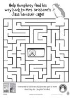 Humphrey the Hamster Maze and Word Search