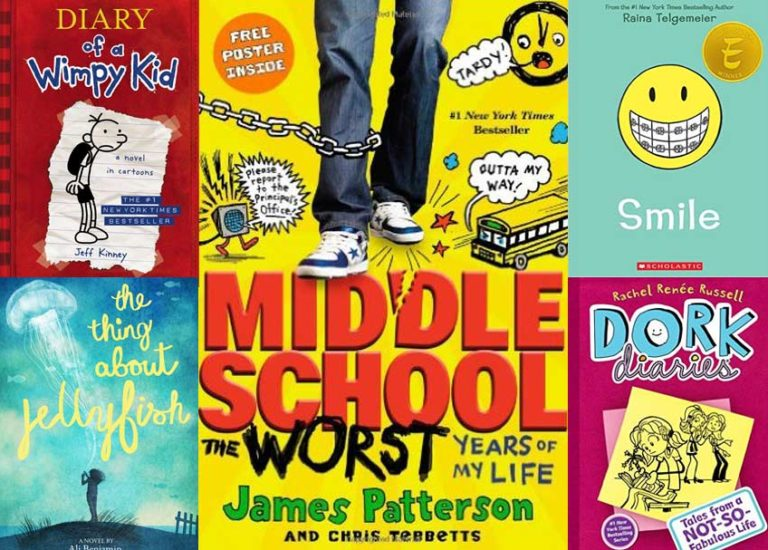 16 Books for Middle Schoolers | Brightly