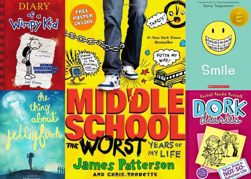 16 Books For Middle Schoolers Brightly