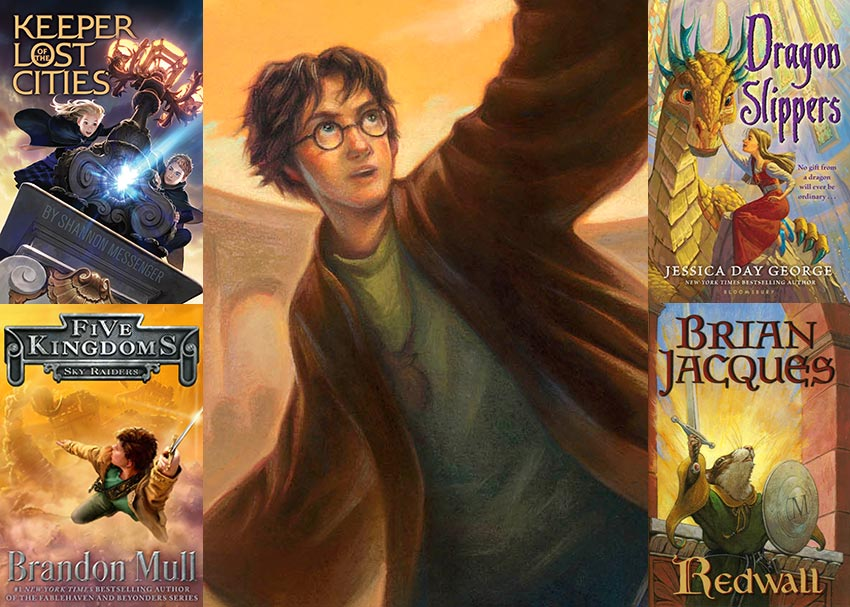 Books Like Harry Potter 15 Series To Read Next Brightly
