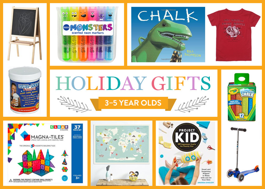 I think the 3- to 5-year-old set is my favorite age group buy gifts for. They\u0027re old enough be excited about holidays and getting a present, 2015 Holiday Gift Guide: 3-5 Year Olds | Brightly