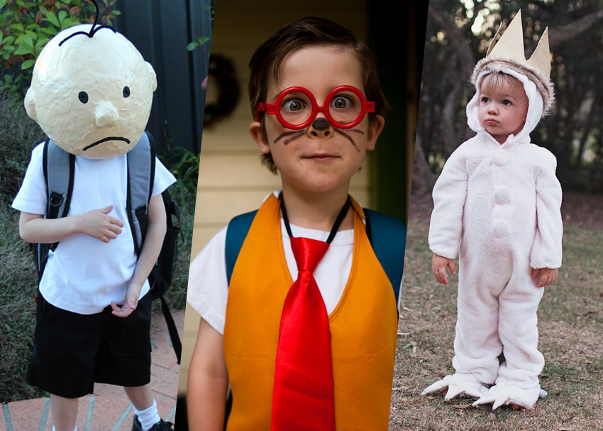 23 book inspired halloween costumes for kids and parents