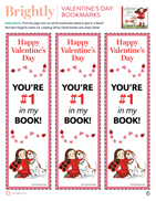 picture about Printable Valentines Bookmarks referred to as Distribute the Delight in: Valentines Working day Printables and Actions