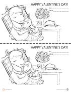Llama-Llama-Valentine-Coloring-Page