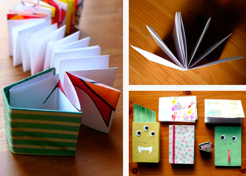 DIY Delight Three Ways To Make A Book