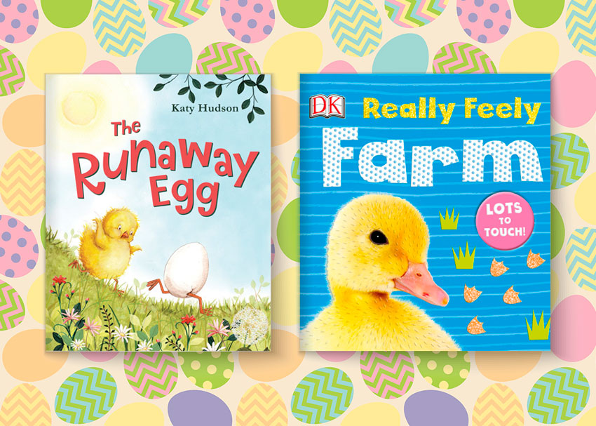 Egg cellent book gifts for your little bunnys easter basket brightly with easter quickly approaching its a good idea to have some basket stuffers in mind and nothing makes a better or less sugary gift than a book negle Image collections