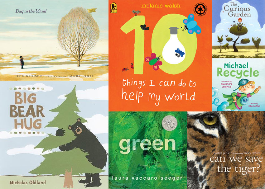 Green Books for Eco-Minded Kids and Parents