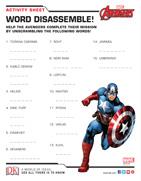 Marvel Avengers Activity Kit