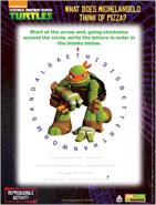 Teenage Mutant Ninja Turtles Circle Code
