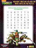 Teenage Mutant Ninja Turtles Word Puzzle