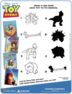 Toy Story Matching Game