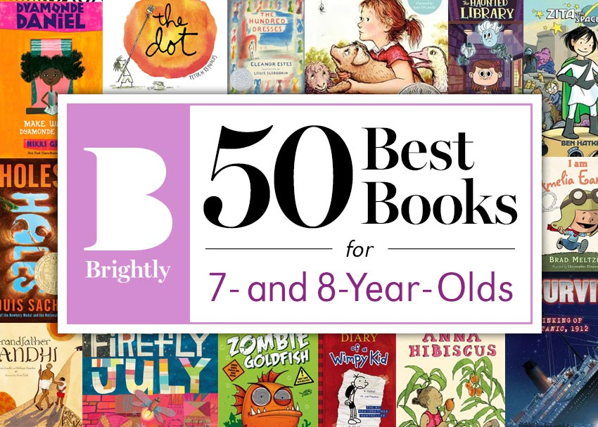 The 50 Best Books for 7- and 8-Year-Olds | Brightly