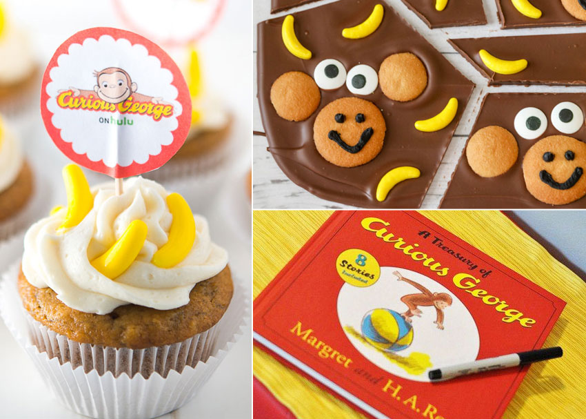 How To Throw A Curious George Birthday Party Brightly